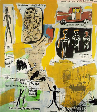 Aboriginal Jean-Michel Basquiat