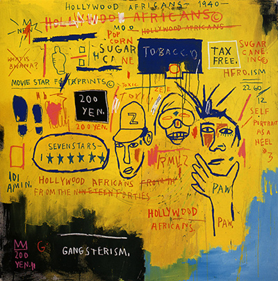 Hollywood Africans Jean-Michel Basquiat